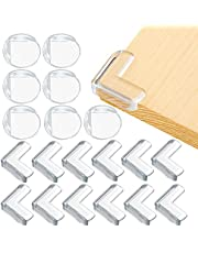Corner Protectors for Baby Safety, 24 Packs Large Size Transparent Furniture Edge Guards Bumper for Table Desk Shelf Bed Sharp Corner