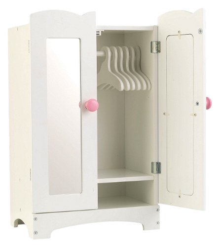 KidKraft Lil' Doll Armoire, used for sale  Delivered anywhere in USA