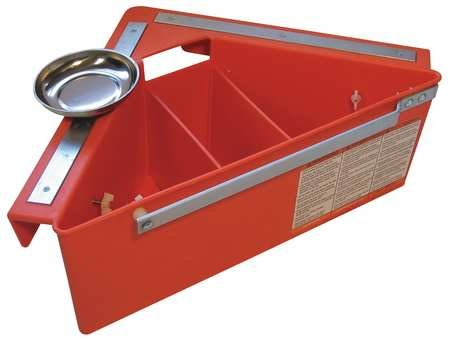 AERIAL TOOL BIN 21, Tool Organizer, for Aerial Platforms, Scissors and Boom Lift