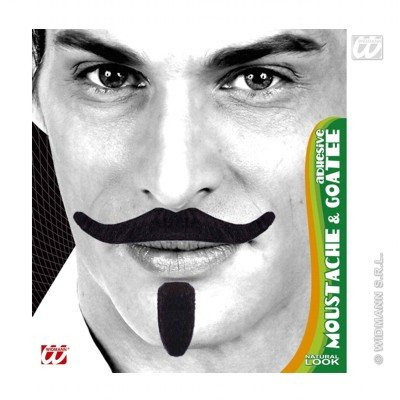 Chevalier Tash & Goatee Adhesive - Black Chevalier Novelty Fake False