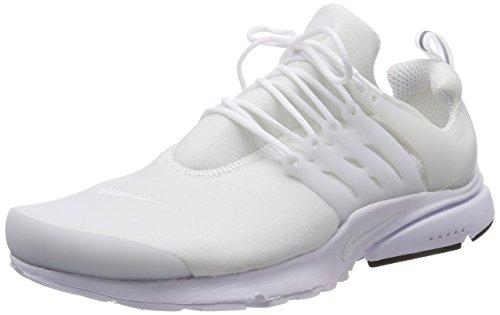 Nike Mænd Air Presto Afgørende Sneaker, Hvid, 46 Eu Hvid (hvid / Sort)