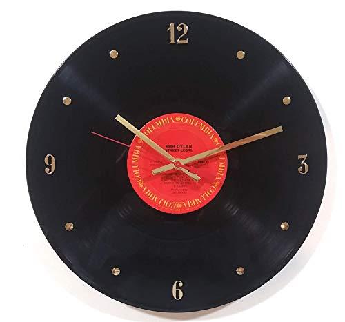 (Record Clock - Bob Dylan. Handmade 12