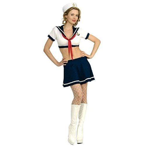 Queen Of Darkness Sexy Costumes (Officer First 1St Class Womens Halloween Costume Secret Wishes Sexy Cute)