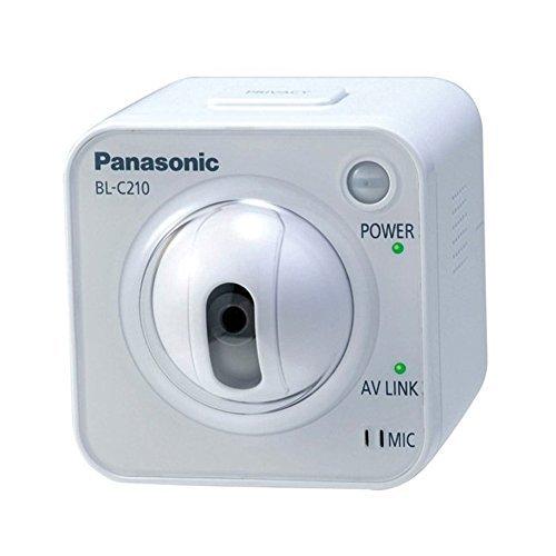 Cctv Panasonic (Panasonic Home Office Security CCTV Camera BL-C210CE Fixed MPEG-4 System Network Camera)