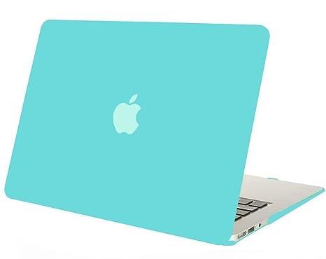 MOSISO Funda Dura Compatible MacBook Air 11 Pulgadas (A1370 / A1465), Ultra Delgado Carcasa Rígida Protector de Plástico Cubierta, Turquesa