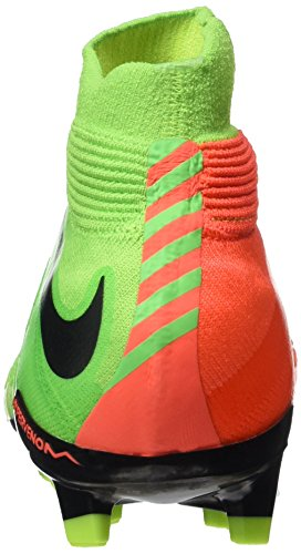Multicolore 3 Hypervenom Enfant blk De Football Green Phantom Orng vlt Nike elctrc Fg Chaussures Mixte hypr Df Evqwnf
