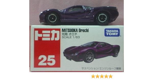 TOMICA 25 MITSUOKA OROCHI 1//63 TOMY DIECAST TOY CAR  NEW