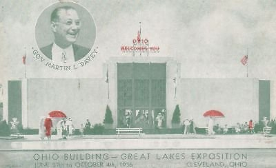 G2317 OH, Cleveland Great Lakes Exposition Postcard