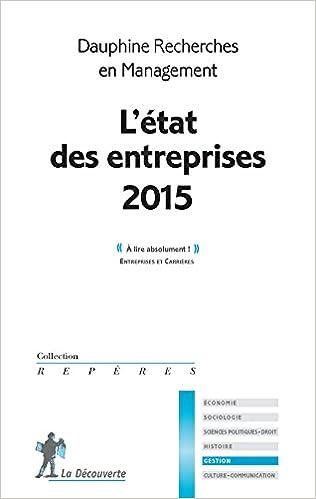 L Etat Des Entreprises 2015 Pdf That Cup Of Tea