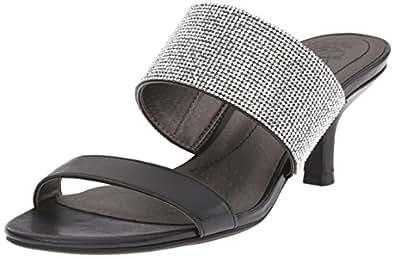 LifeStride Women's Flashy Dress Sandal, Black, ...