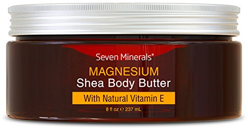 Magnesium Enriched Organic Shea Butter