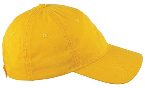(Big Accessories 6-Panel Twill Unstructured Cap OS Sunray)