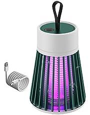 Tenwan Elektrisk myggmördare lampa USB flugdödare lätt bärbar lågt brus utomhus myggfälla