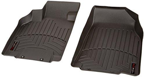 WeatherTech Custom Fit Front FloorLiner for Mazda CX-9 (Black)