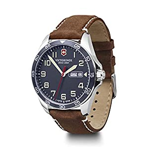 Victorinox Men's Field Force – Swiss Made Analogue Quartz Stainless Steel Watch with Day/Date 241848