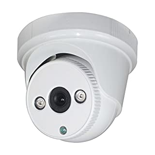 Sinis Security HD 1080P-TVI CCTV Camera, 2MP 4 in 1 Turret,2 Power cob LEDs IR 25m , Indoor/Outdoor,ip67, Surveillance Security System–3.6mm Fixed Lens,Default Output TVI