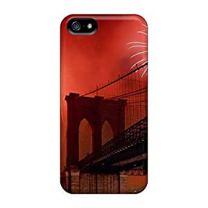 Fashion FGSkAWO2225JKMaK Case Cover For Iphone 5/5s(brooklyn Bridge N Y)