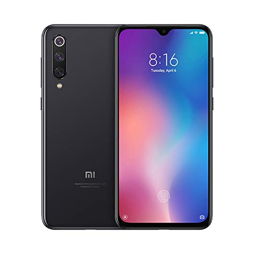 Xiaomi Mi 9 SE Unlocked 6GB/64GB Dual Sim 4G LTE Phone (International Global Version, No Warranty) (Piano Black)
