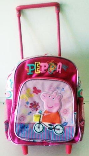 design senza tempo d5fd8 908db ZAINO ASILO TROLLEY PEPPA PIG: Amazon.it: Giochi e giocattoli