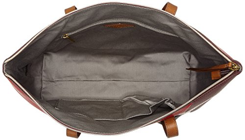 Fossil Damen Tasche Jayda-shopper Tote, Putrefazione (rosso Multi), 8.3x19.1x22.9 Cm