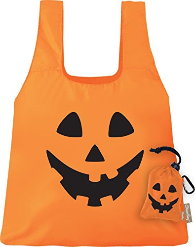 ChicoBag, Bag Original Halloween Orange Peel Jack O Lantern]()