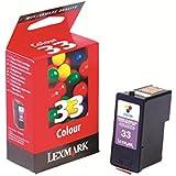 Lexmark #33 factory (OEM) Color Print Cartridge