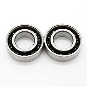 688 Fidget Spinner Replacement Ball Bearings. Hybrid Ceramic Silicon Nitride Si3N4. High speed, silent, open: best for hand spinners. 2 pack set. Prime, fast shipping.