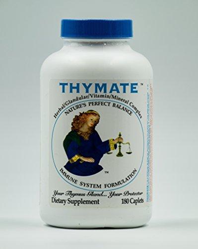 Thymate Herbal Glandular Vitamin Mineral Complex - 180 Capsules ()