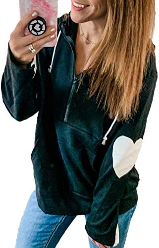 PRETTYGARDEN Color Block Sweatshirt Patchwork Pullover product image