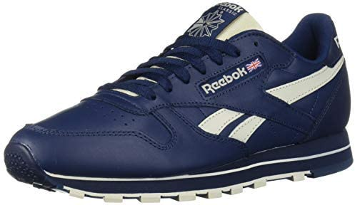 Reebok Herren CL Leather MU Sneaker Blau