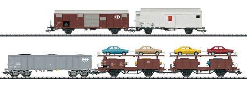 Märklin Trix T23567 Güterwagen-Set Rangier-Krokodil