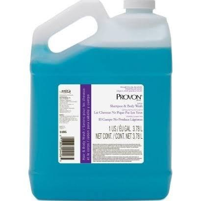 GOJO Industries GOJ 4406-04 Pour Gallon Shampoo44; Blue - 4 Per Case - Sham Gallon