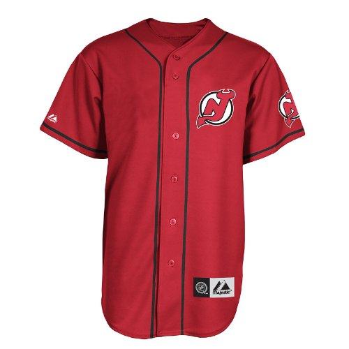 size 40 e26e3 53ba7 NHL New Jersey Devils Replica Jersey Red/Black Replica Jersey, Red/Black