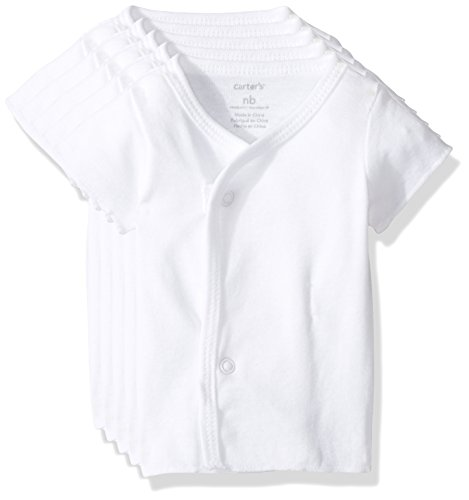 Carter's Baby Multi-Pk Bodysuits 126g389, White, Newborn