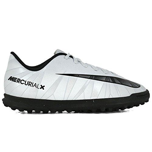 NIKE Youth MercurialX Vortex III CR7 Turf Shoes [Blue Tint] (5Y)