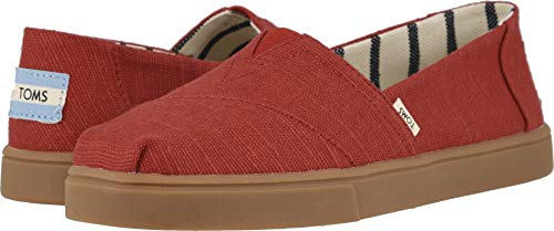 TOMS Women's Alpargata Espadrille, Size: 9.5 B(M) US, Color: Brick Red Heritage -