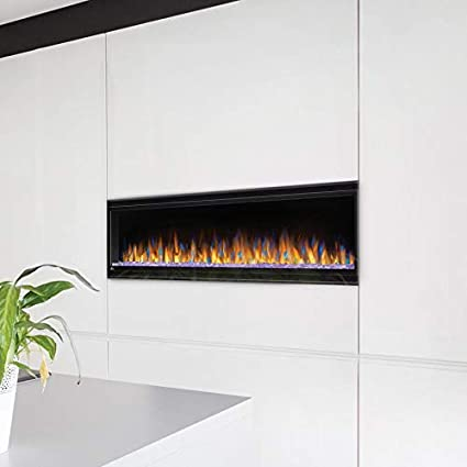 Amazon Com Napoleon Alluravision Slimline Linear Electric Fireplace
