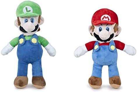 Super Mario - Pack Peluche Mario 60cm + Luigi 65cm Calidad Super ...