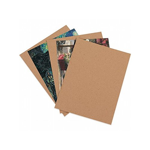 Box Packaging Chipboard Pad, Kraft, 24'' x 36'' - Case of 110 by Box Packaging