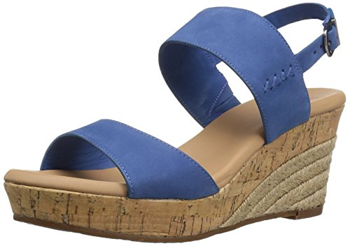 US Sandal US B Azul Women Elena Wedge 6 6 UGG wZCq1
