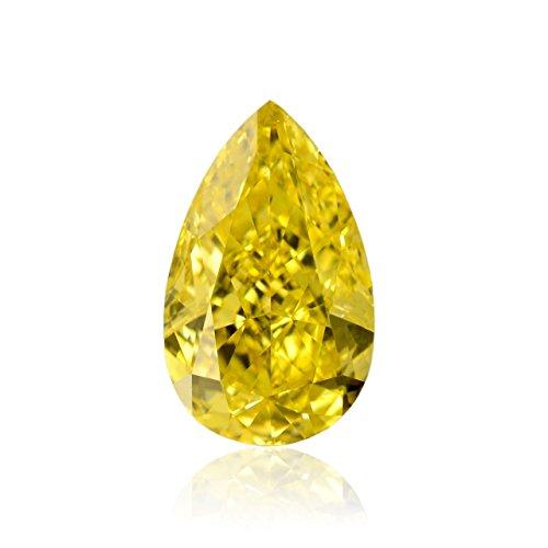 0.77 Ct Pear Diamond - 1