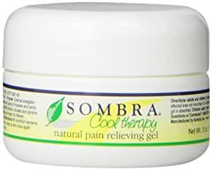 Sombra Cool Therapy Natural Pain Relieving Gel, Sample pack 5oz (Pack of 6 - 5oz sample packs)