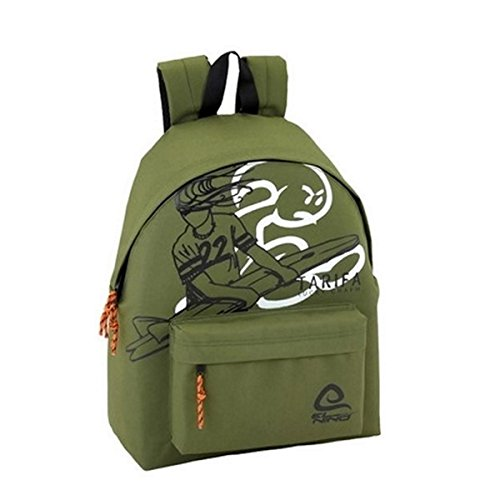 Day Backpack LISO Day Niño El Pack Official Green Pack Children's zqStwrTq