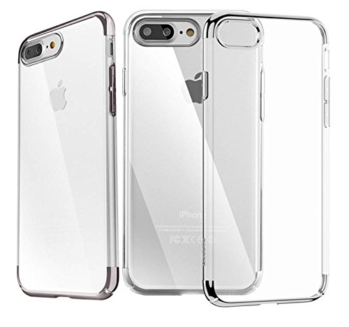 iPhone 7 Plus Custodia [Ultra sottile transparant] Crystal Clear TPU Custodia in silicone per iPhone 7 Plus
