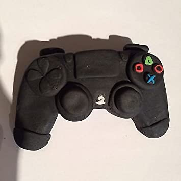 Edible Ps4 Control Cake Topper Decoration 4x3