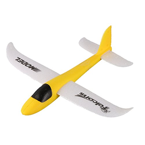 Epp Foam Plane (Balai Hand Launch Throwing Glider Foam EPP Airplane Toy Plane Model Outdoor Sports Toy for Kids (body length 9.84 inch))
