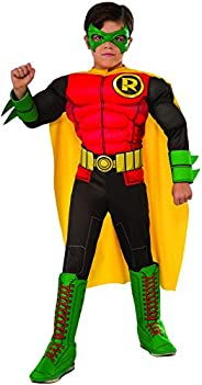 Rubie's Child's DC Superheroes Robin Costume, S