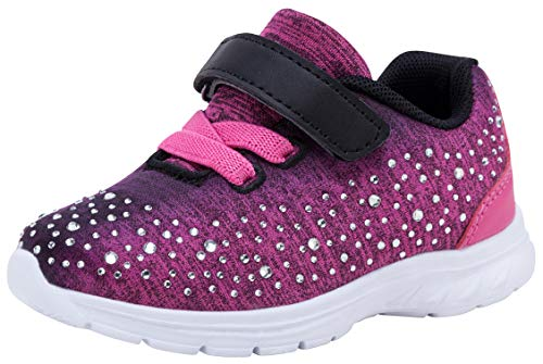 G GEERS Kids Girl's Fashion Sneakers Casual Sports Shoes (11 M US Little Kid, Rose)