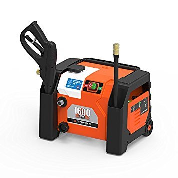 YARD FORCE 1600 PSI All-in-1 Electric Pressure Washer with Bonus Turbo Nozzle (Best Inexpensive Pressure Washer)