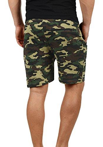 Corti Camouflage Pantaloni solid Pantaloncini Ivy Taras Felpa Green Uomo c3797 Da Shorts qxxIXAwv